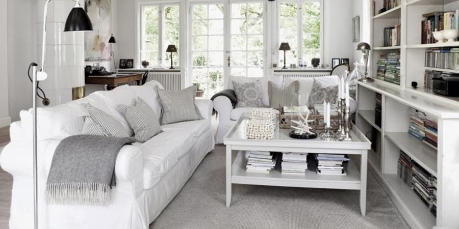Tradycyjny, skandynawski dom z rustykalną nutą, wystrój wnętrz, wnętrza, urządzanie domu, dekoracje wnętrz, aranżacja wnętrz, inspiracje wnętrz,interior design , dom i wnętrze, aranżacja mieszkania, modne wnętrza, styl skandynawski, drewniane belki