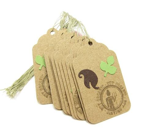 In thẻ bài, thẻ treo, nhãn mác quần áo, price tag đẹp, giá rẻ tại Hà Nội Organic