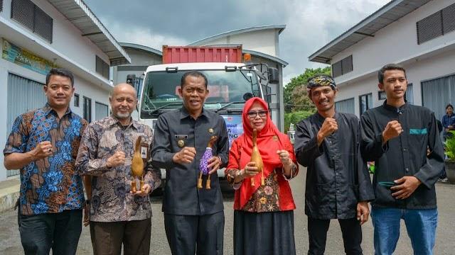 UMKM Binaan DAHANA Ekspor Handycraft ke Jerman