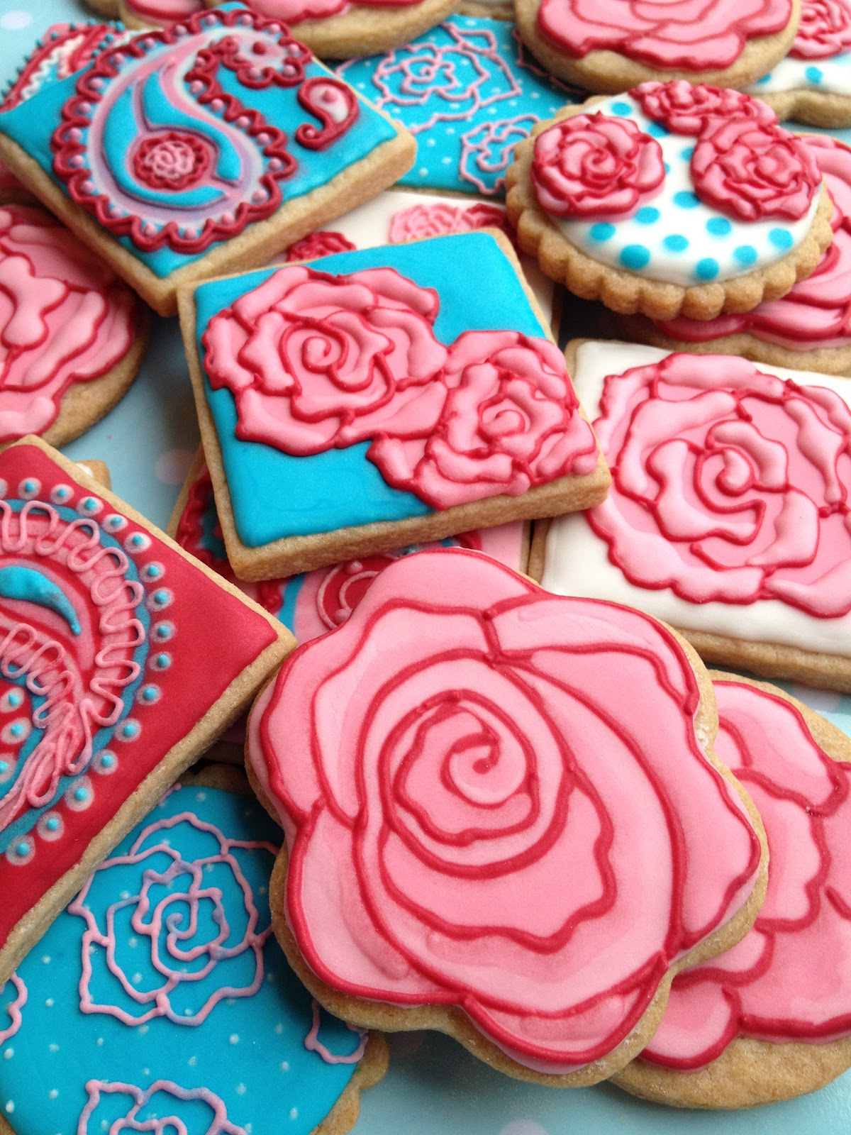 Rose Cookies Rose Tutorial