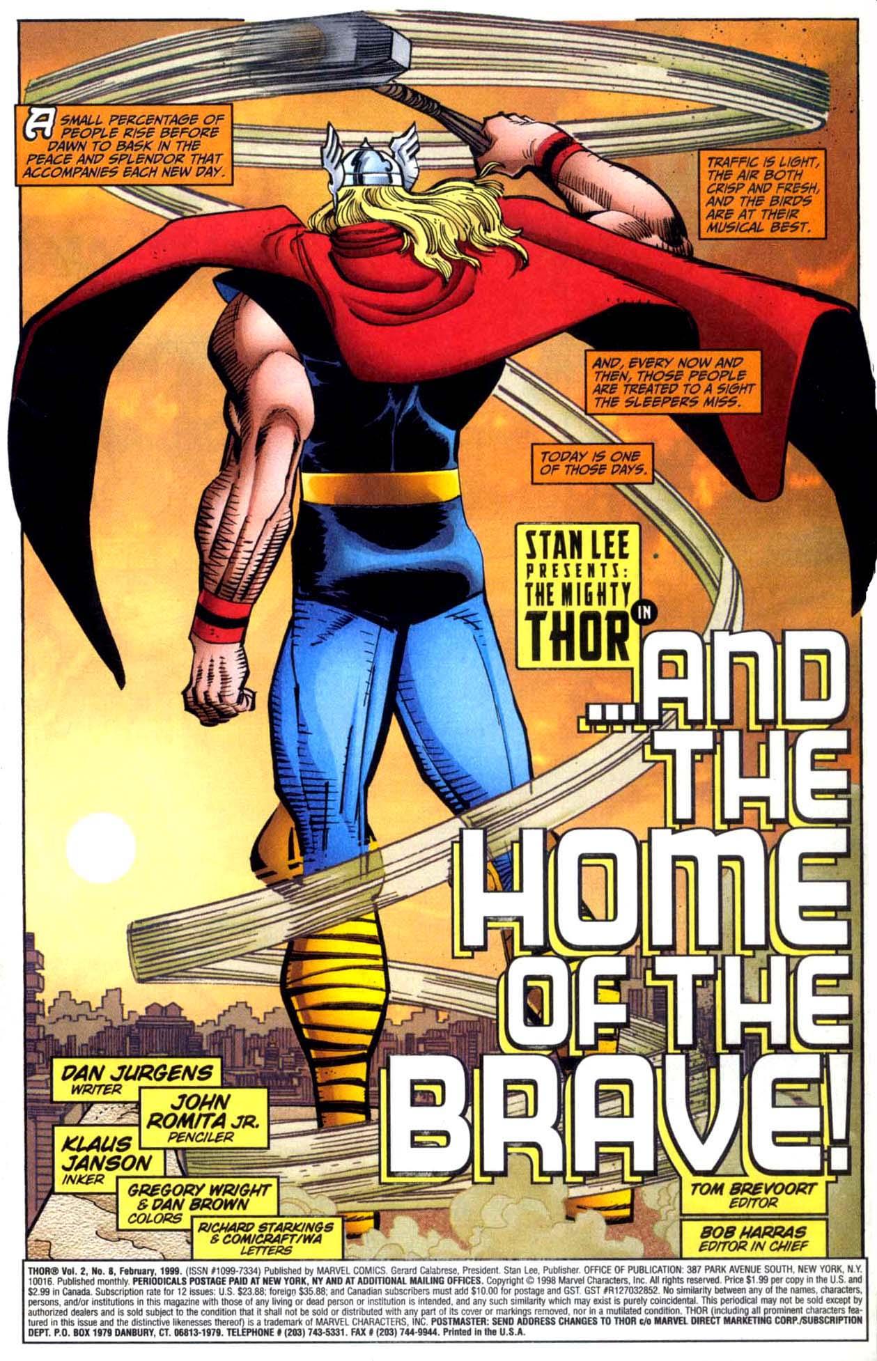 Thor (1998) Issue #8 #9 - English 2