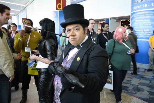 penguin cosplay