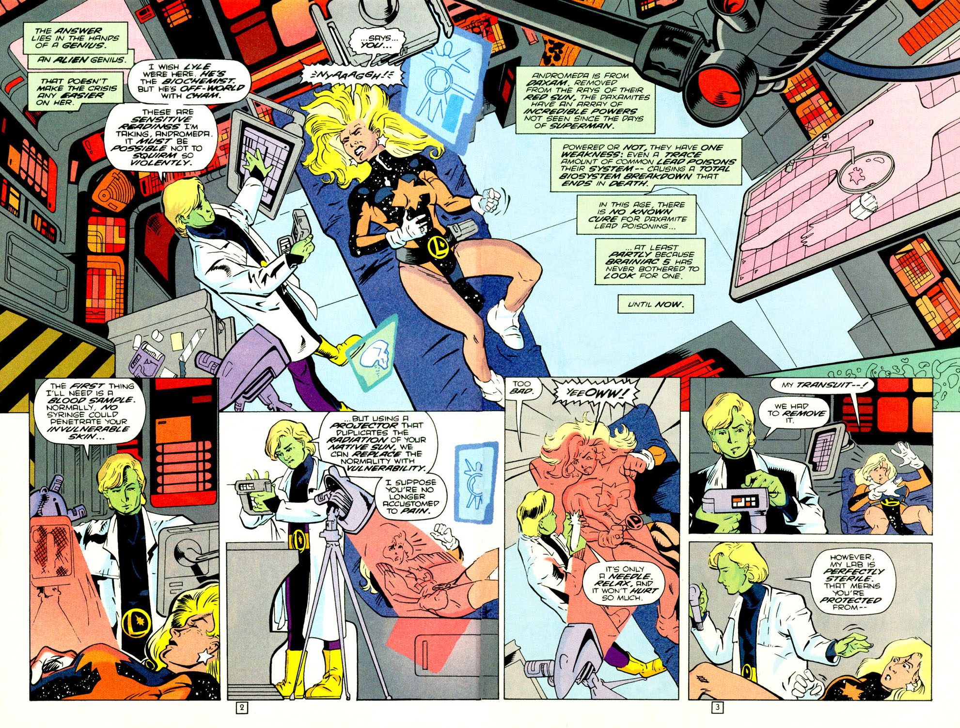 Legion of Super-Heroes (1989) 70 Page 2