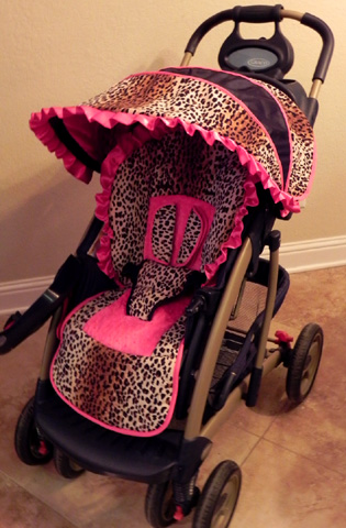 Small Sprouts: Custom Stroller Covers