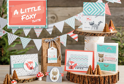 A Little Foxy Product Suite, Stampin' Up!