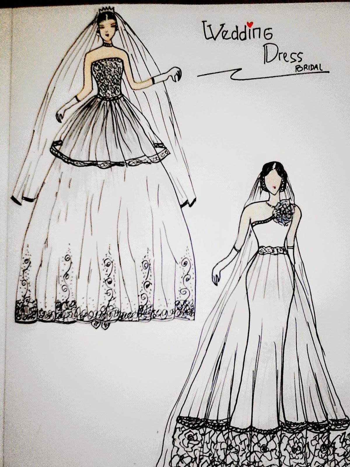 Rancangan Desain Baju Pesta Klopdesain