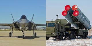 Jet Tempur F-35 dan S-400