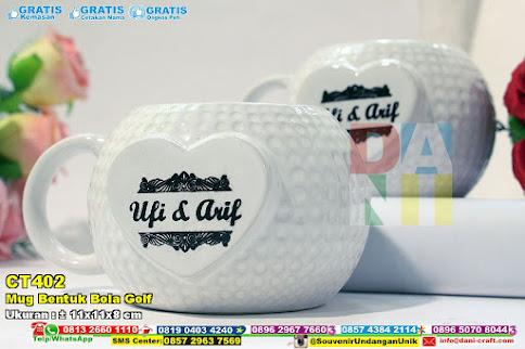 Mug Bentuk Bola Golf
