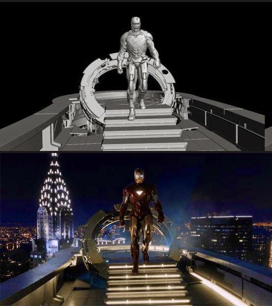 Homem de Ferro efeitos especiais