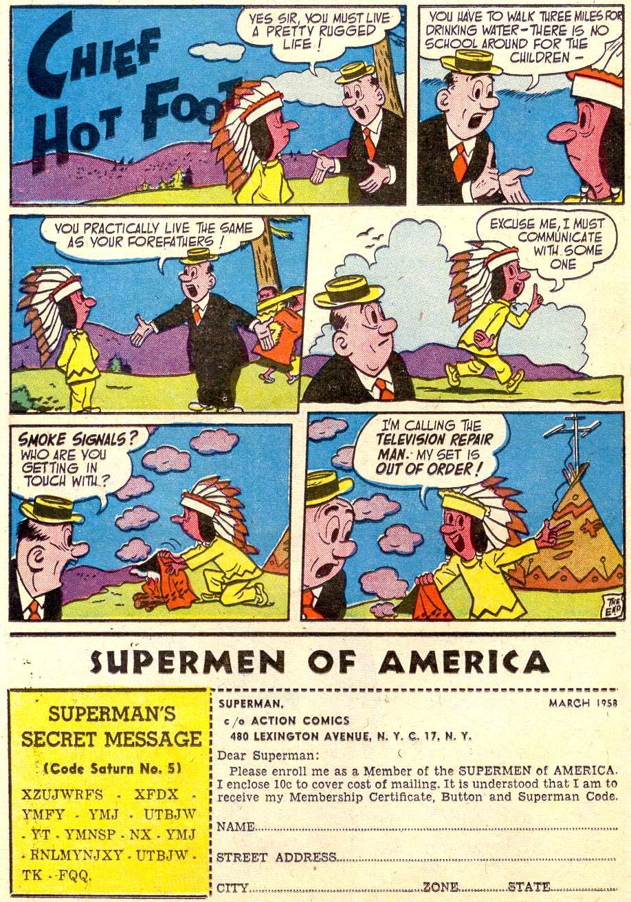 Read online Action Comics (1938) comic -  Issue #238 - 16