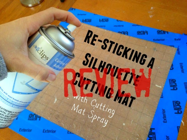 Silhouette Cutting Mat, cutting mat spray adhesive, review