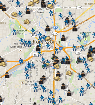SpotCrime - The Public\'s Crime Map: Open Crime Data in Fort ...