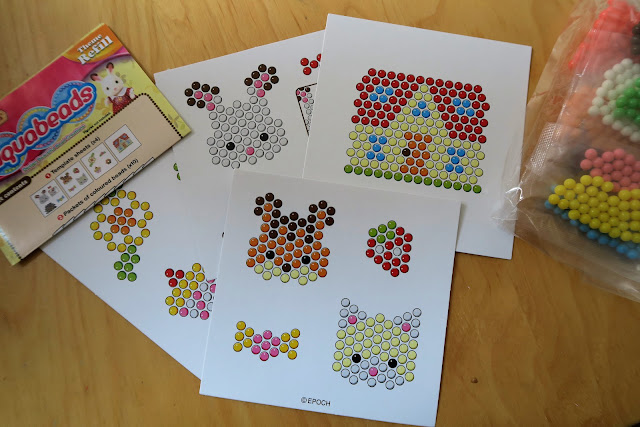 The bead templates and designs