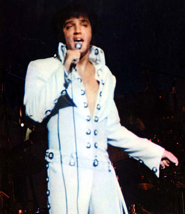 988c0bb0abae One of the jumpsuits Elvis wore during the filming of the 1970 documentary  film