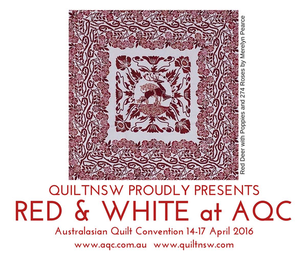 Quiltnsw Blog Red Amp White At Aqc