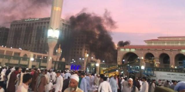 Bom Bunuh Diri Di Masjid Nabawi
