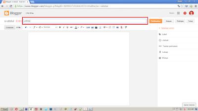 Langkah Membuat Postingan di Blog yang Benar