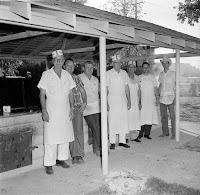 BBQ Cooks Louise Hays Park Kerrville Texas