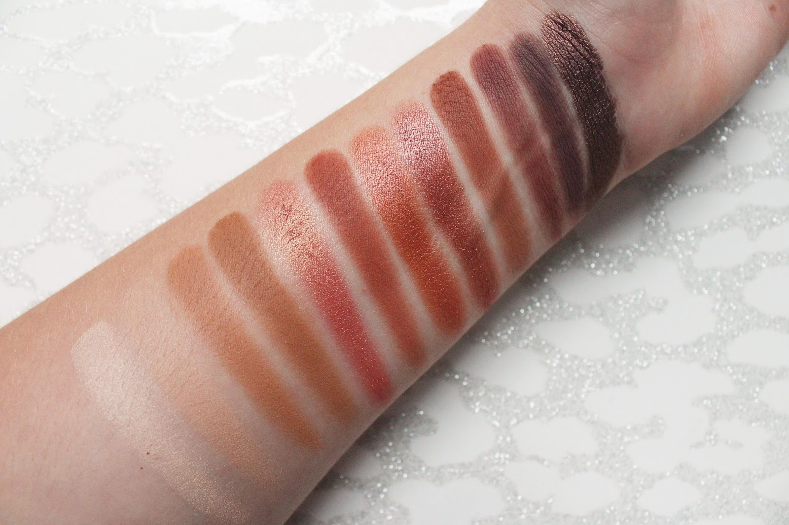 Urban Decay Naked Heat Swatched