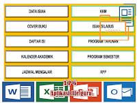 Perangkat Aplikasi Administrasi Guru Kelas Format Excel