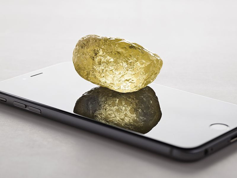 acfccb5c339b3 The Largest Known Diamond in North America Found