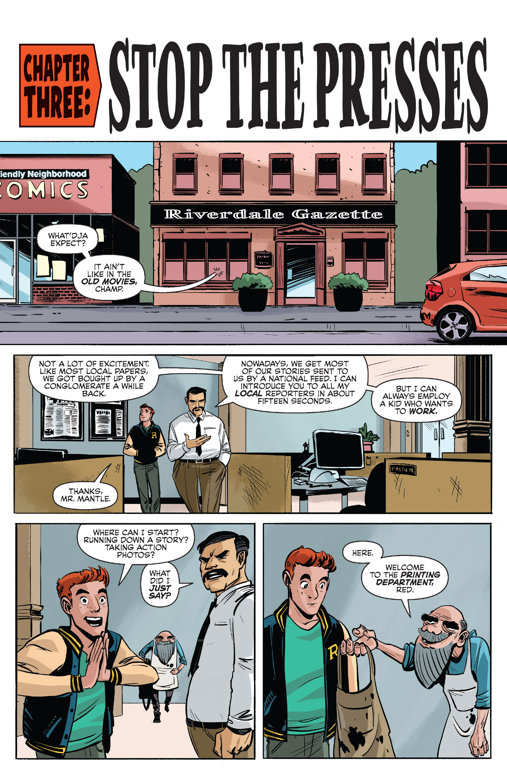 Read online Archie (2015) comic -  Issue #7 - 13