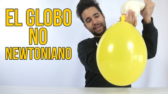 experimento, globo, no newtoniano