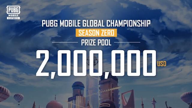 PUBG Mobil Küresel Şampiyonası 2 Milyon Dolarlık Ödül Havuzuyla Açıklandı