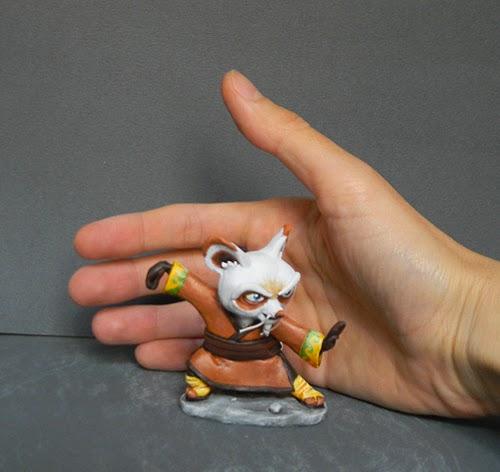 piccole action figure personalizzate da collezione orme magiche