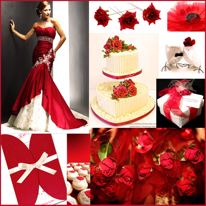 Wedding Red And White Theme: Wedding Blog: Red Wedding Theme