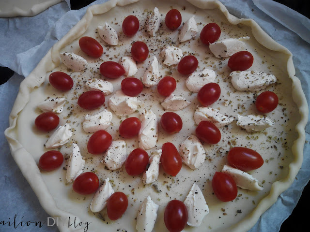 pizza tomate cherry mascarpone