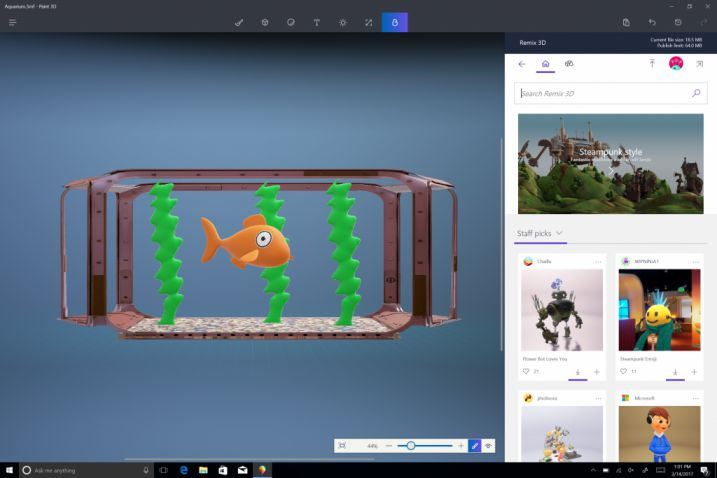 windows-creator-update-aquario-3d