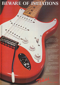 dan guitar Squier-Fender