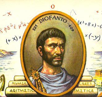 Resultat d'imatges de imagenes de Diofant d'Alexandria