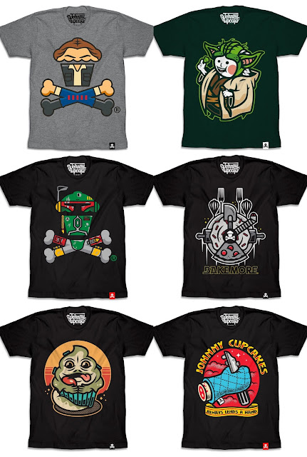 "Star Wars Day 2018 Exclusive ""May the Fourth"" T-Shirt Collection by Johnny Cupcakes"