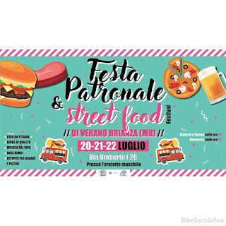 Street food e Festa del paese 20-21-22 Luglio Verano Brianza (MB)