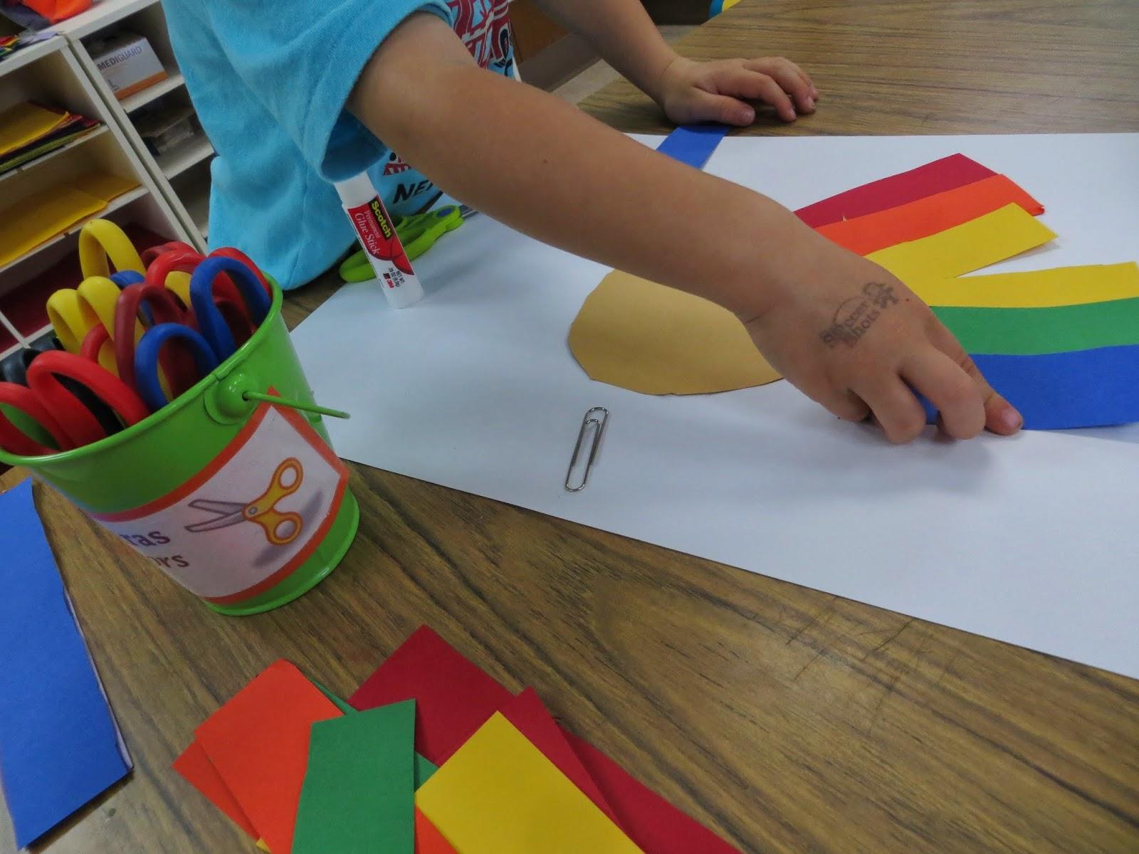 Preschool For Rookies Art Roy G Biv Rainbow Hair