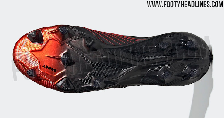 Black & Red Adidas Predator 2019 'Archetic Pack' Boots