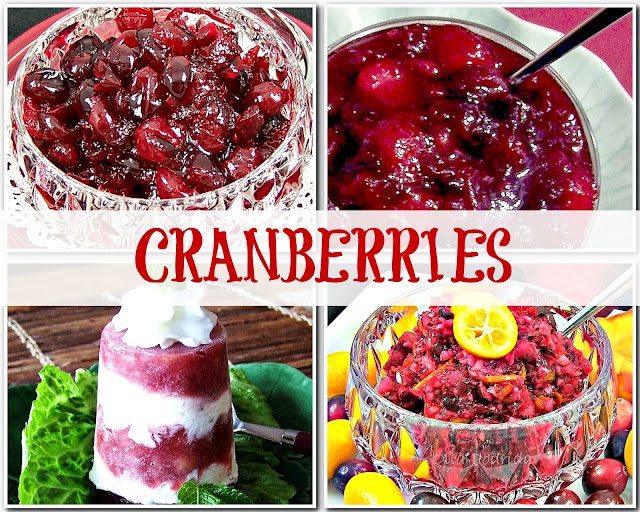 cranberries for thanksgiving