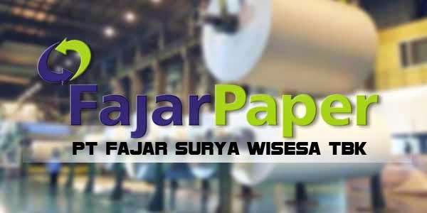 Loker Terbaru Cikarang Operator Produksi PT Fajar Surya Wisesa Tbk