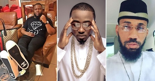 Hushpuppi Shades Phyno, Ice Prince, Mocks Them for Wearing Fake WristtWatches