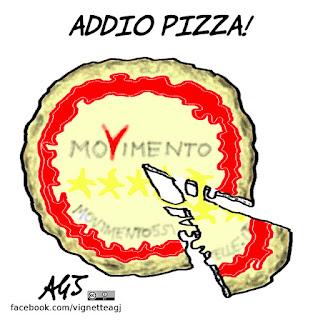 pizzarotti, m5s, beppe grillo, parma, vignetta, satira