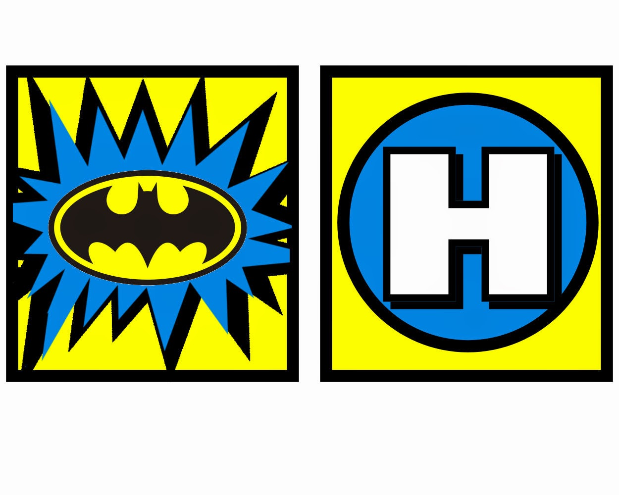 Charming Batman: Free Printable Mini Kit.