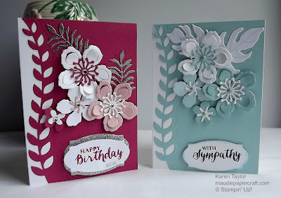 Stampin' Up! Botanical Blooms cards