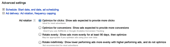 Inside AdWords: An update on ad rotation options