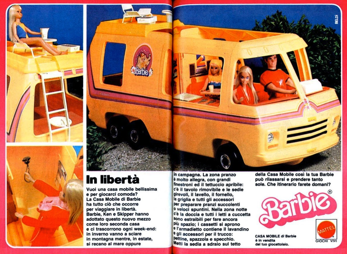 Barbie Casa Mobile