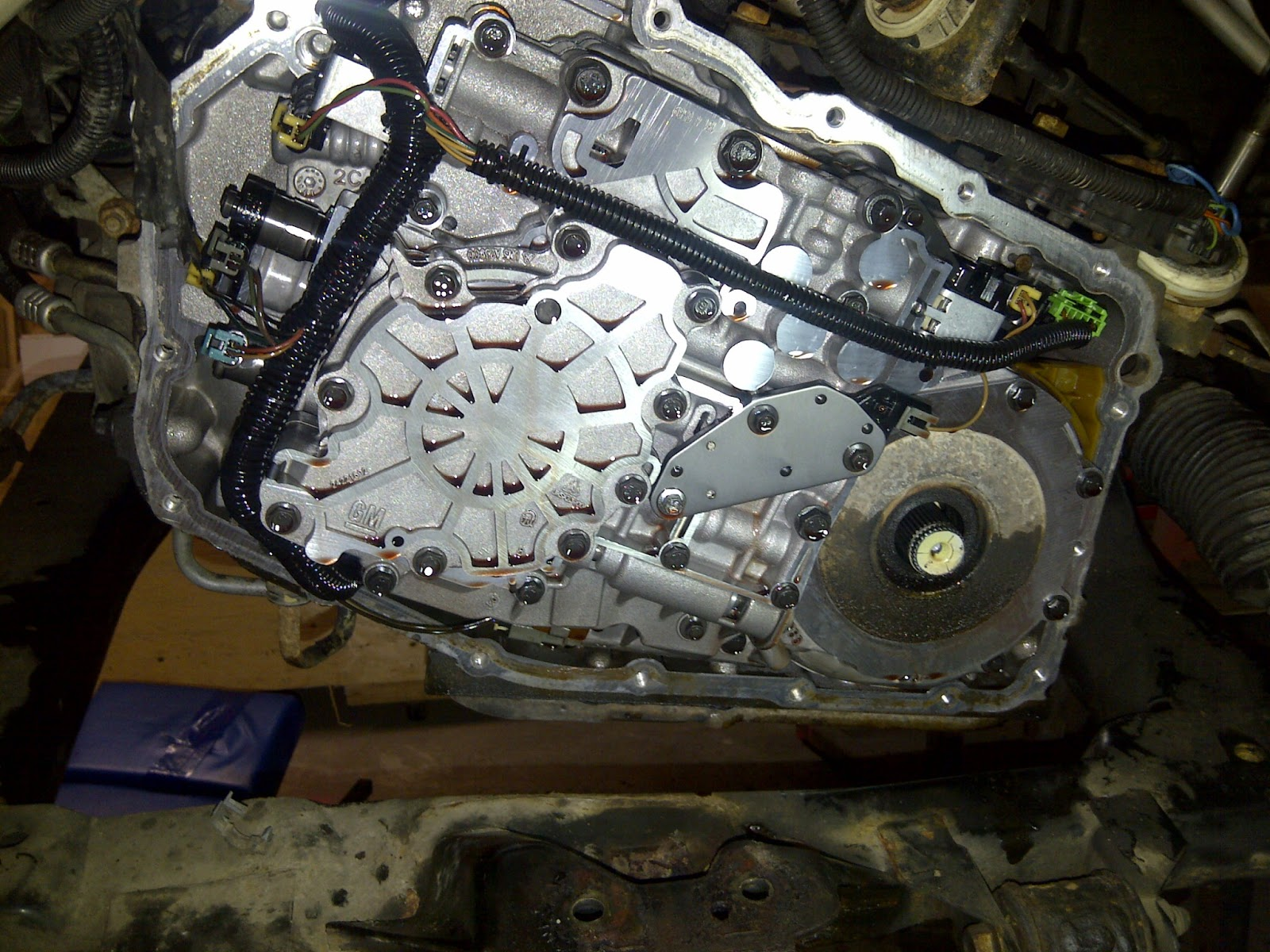 Labor Hours To Replace Transmission >> Another Day Another Project: Fixing My Van's Transmission