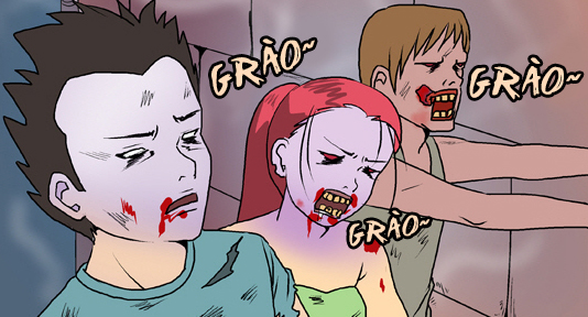 Bựa nương (bộ mới) phần 254: Đại dịch zombie