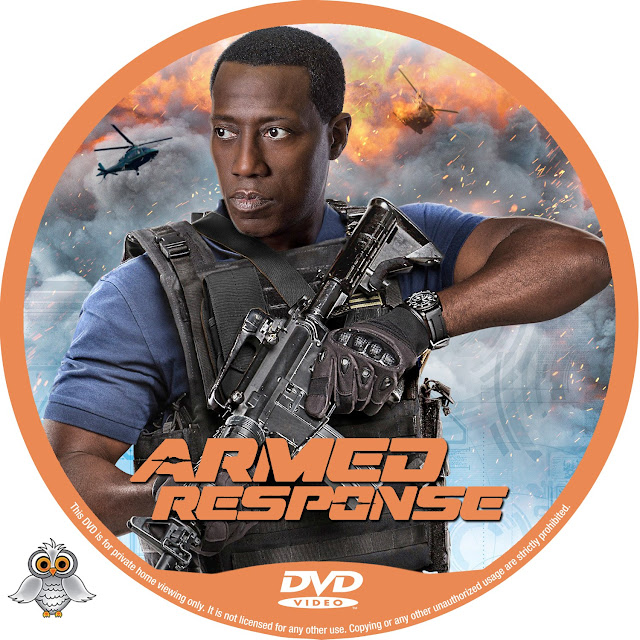 Armed Response DVD Label