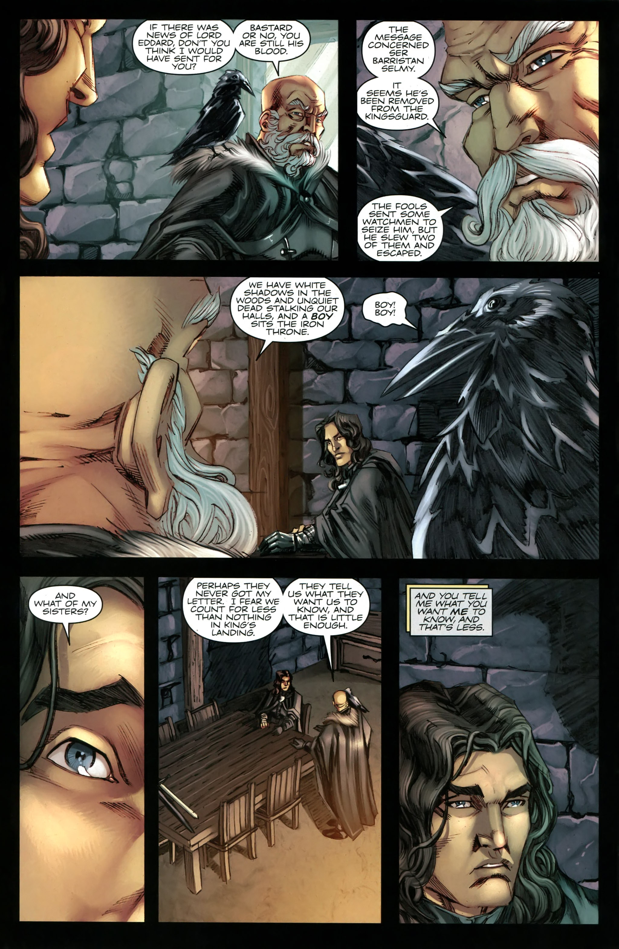 Read online A Game Of Thrones comic -  Issue #20 - 20